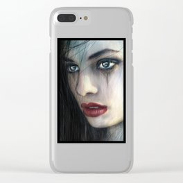 Born for Battle Clear iPhone Case