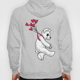 Swept Away Bear Hoody