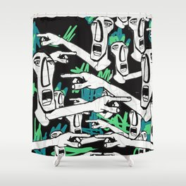everybodys fault Shower Curtain