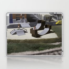 Miniature skatepark Laptop & iPad Skin
