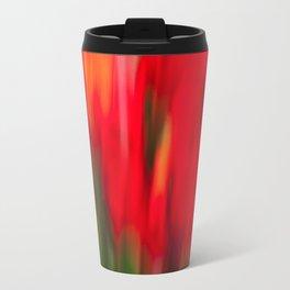 Red Gladiola Travel Mug