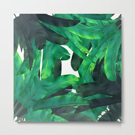 tropic green Metal Print