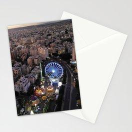 Twilight at Enaerios Limassol Stationery Cards