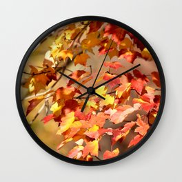 Fall Day Wall Clock