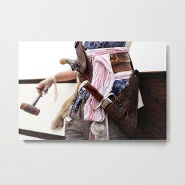 Pirate Series - Belts #2 Metal Print
