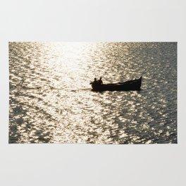 silver Sea Rug