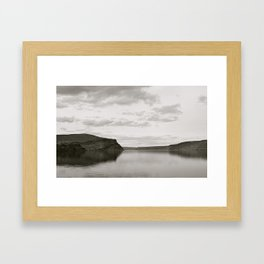 Blurred Reflection Framed Art Print