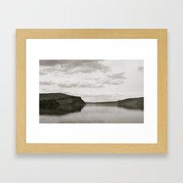 Blurred Reflection Framed Art Print