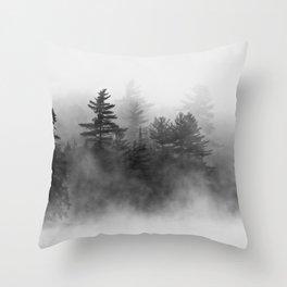 shrouded Throw Pillow