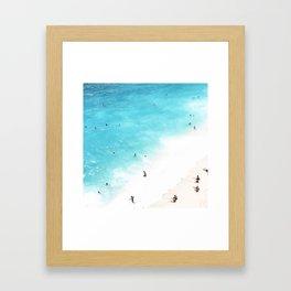 people of the sea Framed Art Print