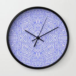 Radiate (Periwinkle) Wall Clock
