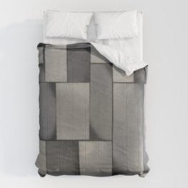 Theo van Doesburg - Composition in Gray - Rag-Time - Abstract De Stijl Painting Comforters
