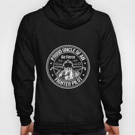 Proud Air Force Uncle Fighter Pilot Design Hoody