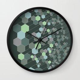 Hexagonal / cool Wall Clock