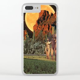 Overdressed Clear iPhone Case