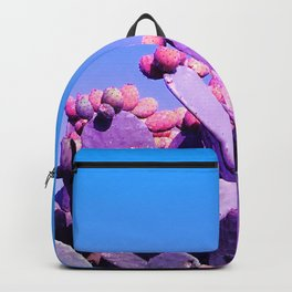 Sweet Rainbow Tropical Cactus #tropicalart #decor Backpack