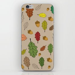 Oak pattern iPhone Skin