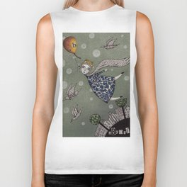 You can fly, Mary! Biker Tank