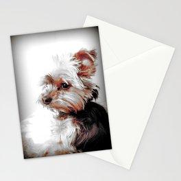 Yorkie | Dog | Dogs | Bad Day eh? | Nadia Bonello Stationery Cards