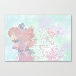 Shattered Rin Canvas Print