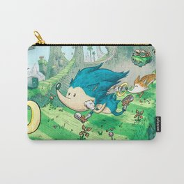 Starring Sonic and Miles 'Tails' Prower (Blue Version) Carry-All Pouch