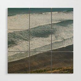 Waves on the Beach Wood Wall Art