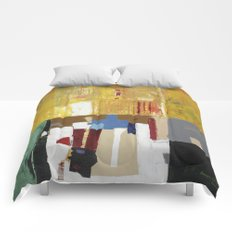 Formality Colorful Modern Art Painting Comforters
