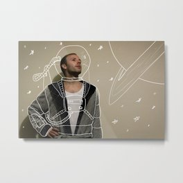 The AstroNot Metal Print