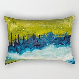 Abstract Nordic Field Rectangular Pillow