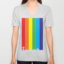 Gaymer Flag Unisex V-Neck