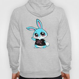 Death Metal Bunny Hoody