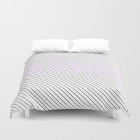 passion Duvet Covers featuring PASSION by Truth & Beauty Design