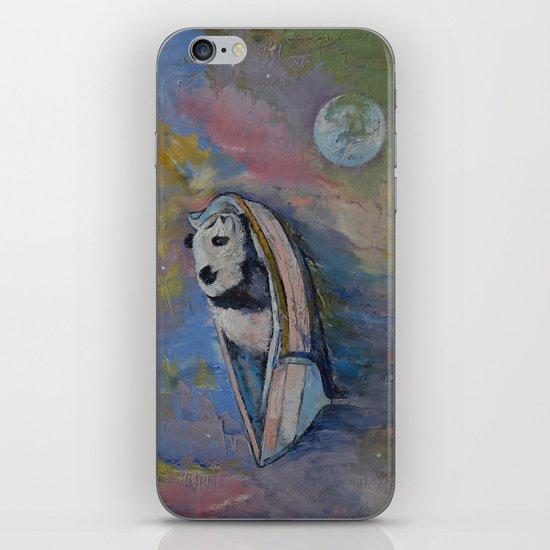 Panda Moon iPhone & iPod Skin