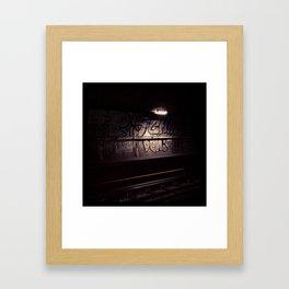 Metro#1 Framed Art Print