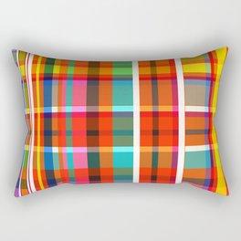 Madras Bright Check Rectangular Pillow
