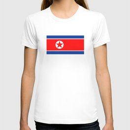 North Korea country flag T-shirt
