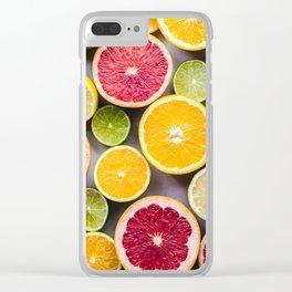 citrus #society6 #decor #buyart Clear iPhone Case