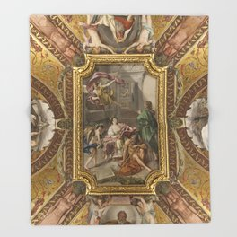 Vatican IV, Rome Throw Blanket