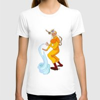 aang T-shirts featuring Aang And Momo by Van's Scribbles
