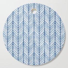 Shibori Herringbone Pattern Cutting Board