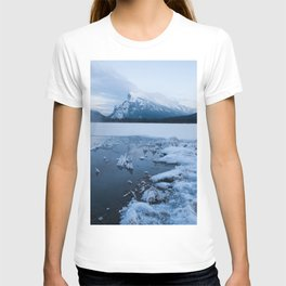 Winter in Banff Alberta T-shirt