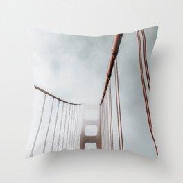 Vanishing Act Throw Pillow