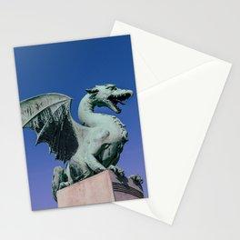 The Dragon Bridge in Ljubljana Stationery Cards