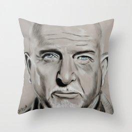 Peter Gabriel Throw Pillow