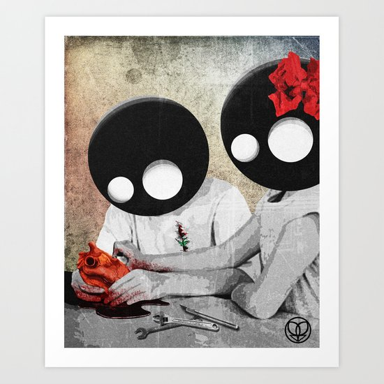 maybe we can fix this together Art Print