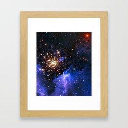 Star Forming Nebula Framed Art Print