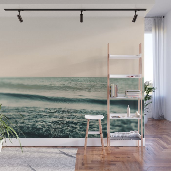 Turquoise Morning Wall Mural