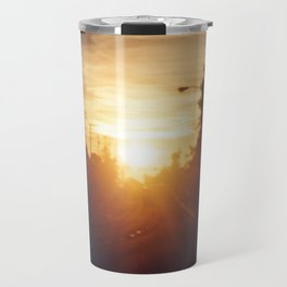 Golden Milk Sky Travel Mug