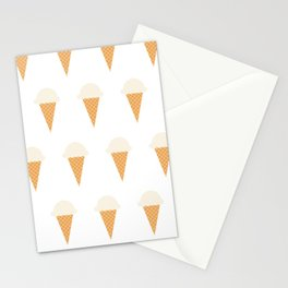 Vanilla Ice-creams Stationery Cards