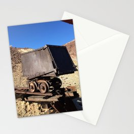 Mining Rail Car at Calico California's Ghost Town Stationery Cards
